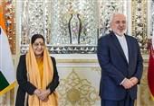 ظریف با همتای هندی خود دیدار کرد
