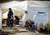 توزیع چادر در ١٣ روستای زلزلهزده کرمانشاه