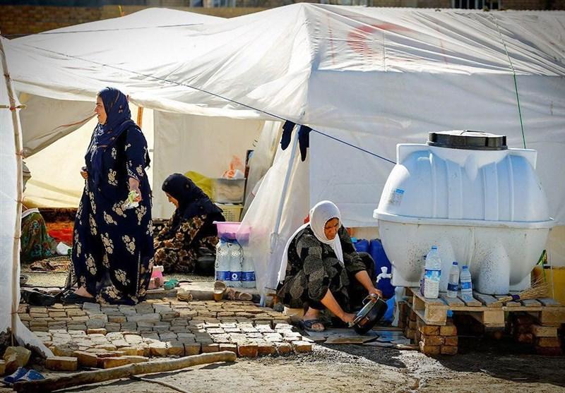 خدمترسانی ویژه سازمان اوقاف به مردم مناطق زلزلهزده در نوروز 97