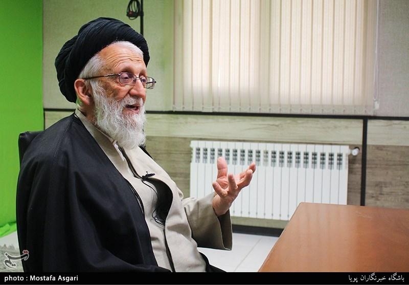 گفت وگو آیت الله سیدجمال الدین دین پرور رییس بنیاد ملی نهج البلاغه