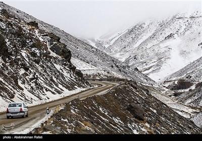ہمدان کے برفیلے پہاڑوں کی چند تصاویر