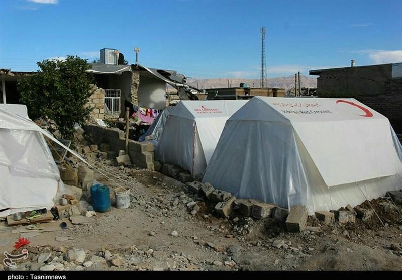 بسیج زنجان در مناطق زلزلهزده