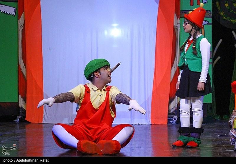 نمایش های بیست و چهارمین جشنواره بین المللی تئاتر کودک و نوجوان
