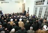 برگزیدگان جشنواره مالک اشتر با امام خامنهای دیدار کردند