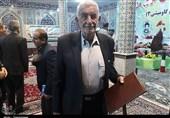 پدر شهید ابراهیم بهرامی در یادواره ستارههای آسمانی در هفتگل