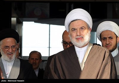 رئیس المجلس الأعلى الإسلامی العراقی یصل طهران