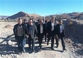 رئیس سازمان نوسازی مدارس از مناطق زلزلهزده هجدک بازدید کرد + تصاویر