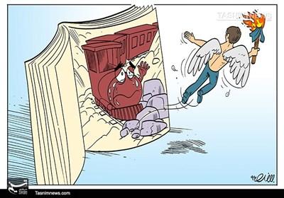 کاریکاتور/ دهقانفداکار از قطار زندگی جا ماند!