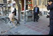 شرایط تردد معلولان در شهرهای ایلام رو به بهبودی است