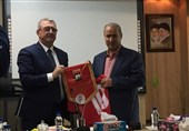 Iran, Albania Football Federations Ink Agreement