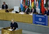 سخنرانی لاریجانی در کنفرانس بین المللی مبارزه با مواد مخدر + تصاویر
