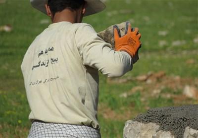 گروه های جهادی در مناطق زلزله زده کرمانشاه