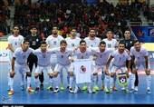 اعلام جدیدترین ردهبندی تیمهای ملی فوتسال/ تیم ایران همچنان در رده ششم جهان