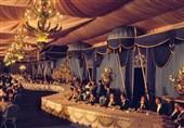 بقایای داربست خیمههای پذیرایی پادشاهان 69 کشور جهان + تصاویر