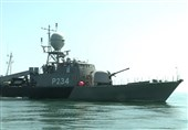 New Corvette Joins Iran's Caspian Fleet