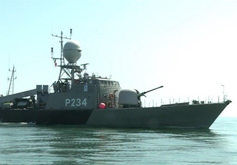 New Corvette Joins Iran's Caspian Fleet