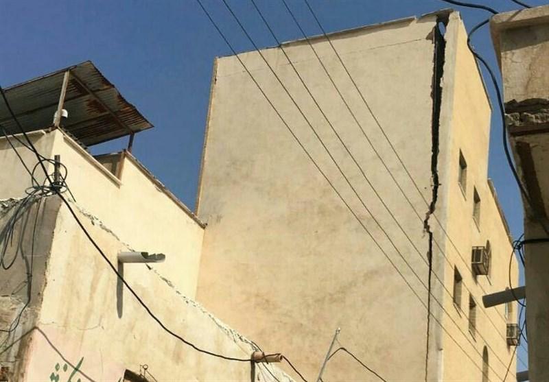 زلزله دیر و کنگان 12 نفر مجروح برجای گذاشت