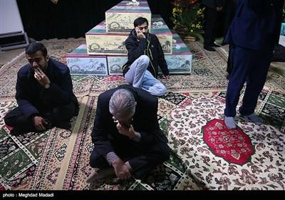 وداع با پیکر شهید مدافع حرم منصور عباسی