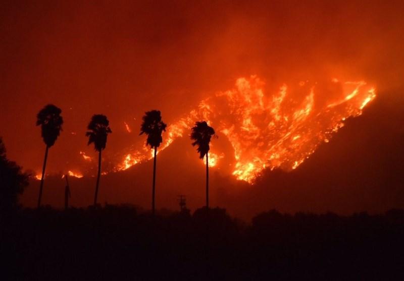 ایلام| استخرآساره ایلام در آتش سوخت