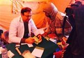اقدامات درمانی ارتش در مناطق محروم شرق کشور