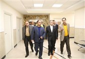 تجهیزات پزشکی فوقتخصصی در بیمارستان ولیعصر(عج) بیرجند افتتاح شد