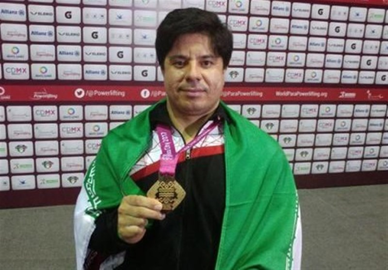 Iran's Farzin Takes Gold at World Para Powerlifting C'ships