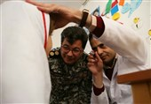ویزیت 2783 نفر از مردم محروم توسط قرارگاه پدافند هوایی