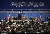 دیدار مسئولان نظام، مهمانان کنفرانس وحدت اسلامی و سفرای کشورهای اسلامی با رهبر معظم انقلاب اسلامی