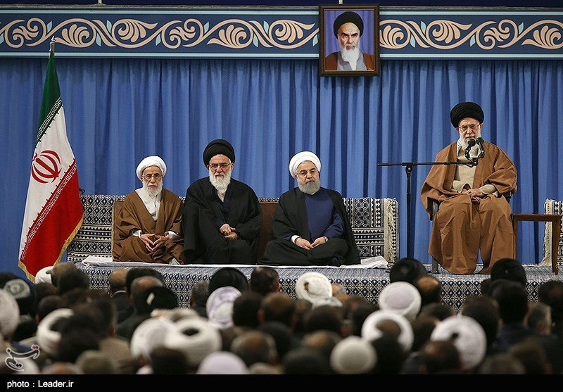 Khamenei blames US for plans to start war in Middle East