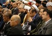دیدار مسئولان نظام، مهمانان کنفرانس وحدت اسلامی و سفرای کشورهای اسلامی با رهبر معظم انقلاب