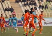 لیگ برتر فوتبال|برتری یک نیمهای سایپا مقابل پیکان