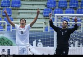 پیروزی پرگل تیم ملی فوتسال ایران مقابل بلاروس