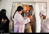 ویزیت رایگان 50هزار نفر در پایان رزمایش مردمیاری ارتش