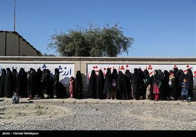 رزمایش مردمیاری و امدادرسانی محمد رسولالله ارتش در مناطق محروم سیستان و بلوچستان - روستای کهیر