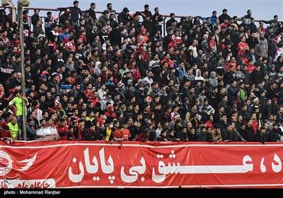دیدار تیمهای فوتبال سپیدرود رشت و پرسپولیس تهران -گیلان