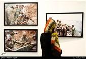 نمایشگاه عکس «انجمن عکاسان انقلاب و دفاع مقدس» برگزار شد + تصاویر