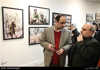 حمیدرضا ولی و محمود بدرفر عکاسان دفاع مقدس