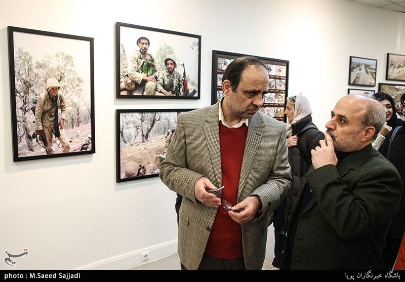 حمیدرضا ولید و محمود بدرفر عکاسان دفاع مقدس