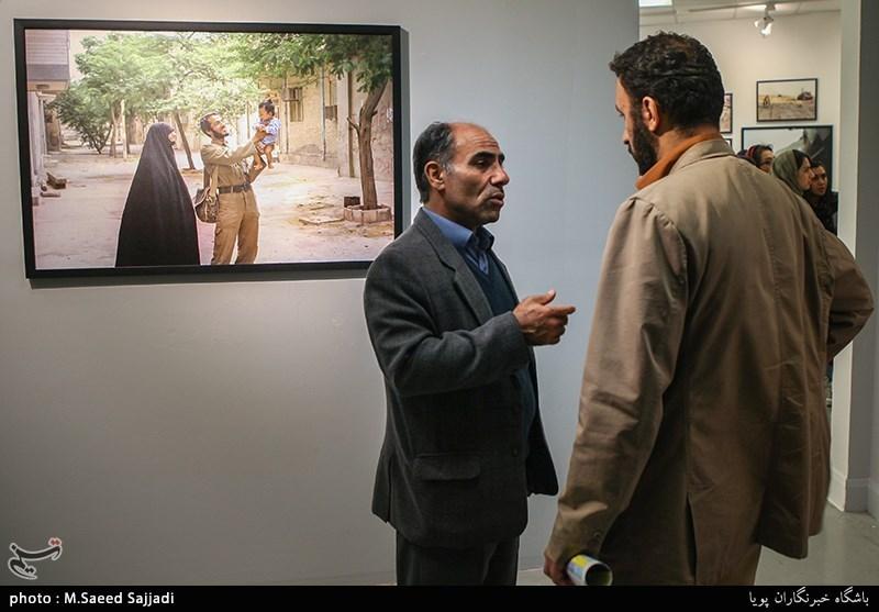 محمدحسین حیدری مدیر انجمن عکاسان انقلاب و دفاع مقدس
