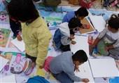 نقاشی کودکان زلزله 1