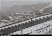 """نهر """"ایلوانق"""" فی اردبیل یکتسی بالثلوج +صورة"""