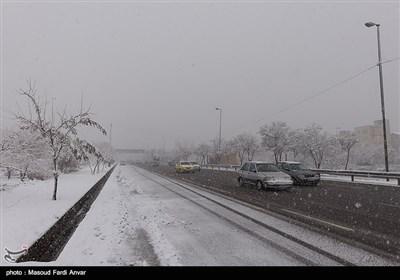 بارش برف - تبریز
