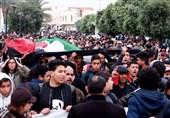 طنین شعار جانم فدای فلسطین در خیابانهای تونس/ به آتش کشیده شدن عکس ترامپ و پرچم اسرائیل در اردن