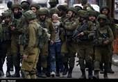 تیراندازی نظامیان صهیونیست به سمت تظاهراتکنندگان فلسطینی