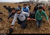 زخمی شدن دهها فلسطینی به ضرب گلوله نظامیان صهیونیست