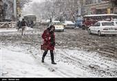 بارش باران و برف در 7 استان