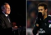 کنایه مدیر ورزشی باشگاه پاریسنژرمن به رئیس کهکشانیها در مورد نیمار