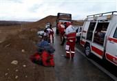 تصادف خونین در محور نهاوند ـ آورزمان؛ 5 نفر کشته و مجروح شدند