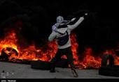 رجز خوانی جوانان لبنانی در مرز اسرائیل+فیلم