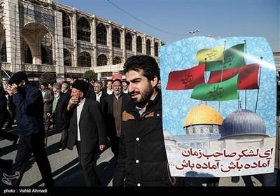 ایران بھر میں ٹرمپ کے اعلان کیخلاف مظاہرے